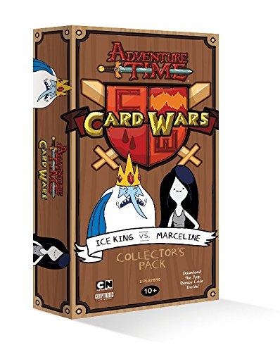 Adventure Time Card Wars Ice King vs. Marceline Card Game