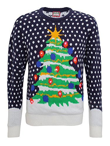 Light-Up-3D-Mens-Knitted-Christmas-Tree-Jumper