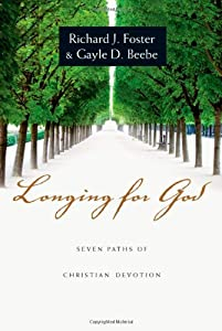 "Cover of ""Longing for God: Seven Paths of..."