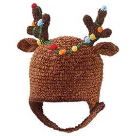 Reindeer Antlers Christmas Baby Hat