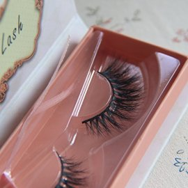 Arimika-Natural-3D-Long-Wispy-Thick-Crescent-shaped-Authentic-Mink-False-Eyelashes-For-makeup-1-Pair-Pack