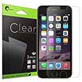 iPhone 6 Plus Screen Protector, [3 Pack] [Screen Protector] i-Blason for Apple iPhone 6 Plus 5.5 inch [Easy Application] Maximum Clarity and Touchscreen Accuracy Lifetime Warranty