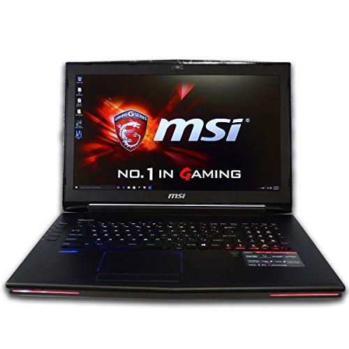 CUK MSI GT72 Dominator 17.3-inch Intel 6th Gen 16GB 1TB HDD NVIDIA GTX 970M 3GB Windows 10 Full HD Gaming Laptop Computer