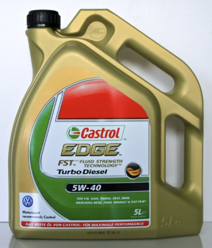 castrol edge fst turbo diesel 5w40 f r pumpe d se motoren. Black Bedroom Furniture Sets. Home Design Ideas