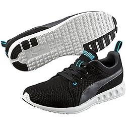 Puma Carson Runner, Unisex-Erwachsene Laufschuhe, Schwarz (black-asphalt 12), 44 EU (9.5 Erwachsene UK)