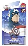 ディズニーインフィニティ2.0キャラクタ - キャプテン·アメリカ図(PS4/ PS3/任天堂Wii U / Xbox 360の/ Xboxの一つ) Disney Infinity 2.0 Character - Captain America Figure (PS4/PS3/Nintendo Wii U/Xbox 360/Xbox One)