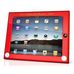 Headcase Etch-a-Sketch iPad case at amazon