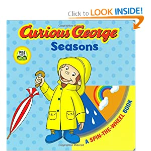 Curious George Seasons (CGTV Spin-the-Wheel Board Book)