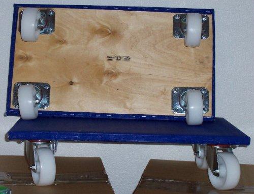 1 Profi Möbelroller Möbelhund Möbelrollwagen Transportkarre Rollwagen 350 mm x 600 mm, 500 kg Tragfähigkeit