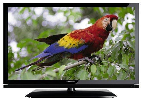 Grundig 32 VLE 7130 BF 80 cm (32 Zoll) LED-Backlight-Fernseher, Energieeffizienzklasse B (Full HD, 100 Hz, DVB-T/C, DLNA, 4x HDMI, USB 2.0, CI+) schwarz