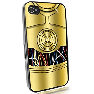 C3PO gold cool Star Wars iphone 4/4s case at amazon