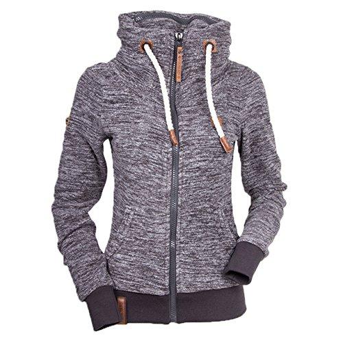 Naketano Women's Zipped Jacket Redefreiheit? II