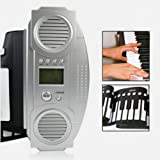 Lujex New Digital Electronic 61 Standard Keys Soft Roll Up Keyboard Piano MIDI Folding Electronic Piano Musical Instruments