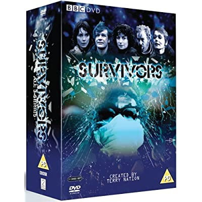 Cover of three series Survivors DVD set from 2-entertain