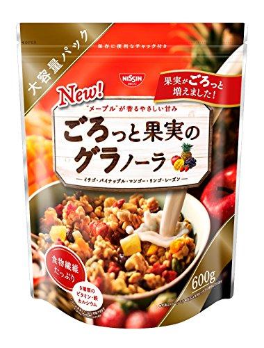 日清シスコ ごろっと果実のグラノーラ 600g×6袋