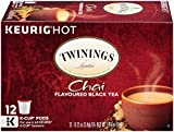 Twinings Chai Tea, Keurig K-Cups, 12 Count