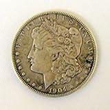 1904 Morgan Silver Dollar - Good Condition