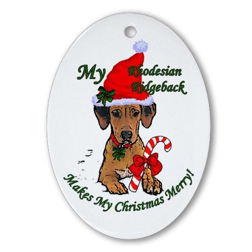 Rhodesian Ridgeback Christmas Ornament