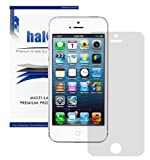 Halo Screen Protector Film High Definition (HD) Clear (Invisible) for iPhone 5 / 5S / 5C [3 Pack] - Lifetime Replacement Warranty