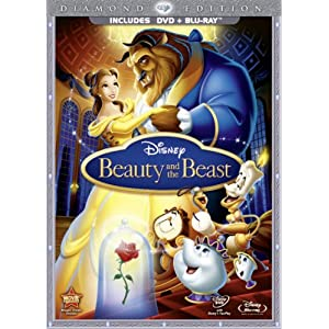 Beauty and the Beast DVD from Amazon