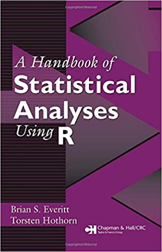 Handbook of statistical analyses in R