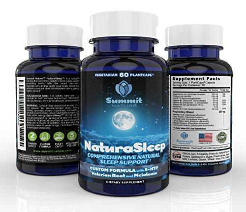 NaturaSleep Natural Sleep Aid with Melatonin   3X ...