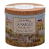 Le Saunier De Camargue Fleur De Sel Sea Salt, 4.4 Ounce Canisters