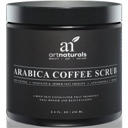 Art-Naturals-Organic-Arabica-Coffee-Scrub-88-oz-The-Most-Powerful-Remedy-for-Varicose-Veins-Cellulite-Stretch-Marks-Eczema-Acne-Deep-Skin-Exfoliator-That-Promotes-Cell-Repair-Rejuvenation