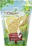 Food To Live ® Organic Pine Nuts / Pignolias (1 Pound)