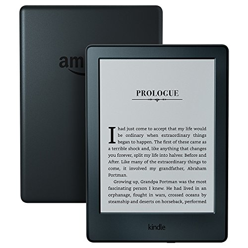 "All-New Kindle E-reader - Black, 6"" Glare-Free Touchscreen Display, Wi-Fi - Includes Special Offers"
