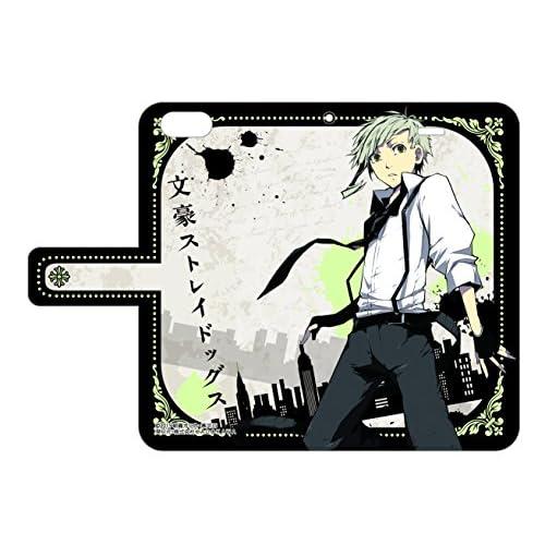 手帳型スマホケース 文豪ストレイドッグス 01 中島敦 iPhone5/5S専用