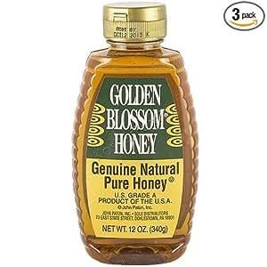 Amazoncom Golden Blossom Honey 12 Oz Pack of 2