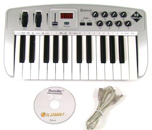 New Badaax Or25 Midi Keyboard Controller