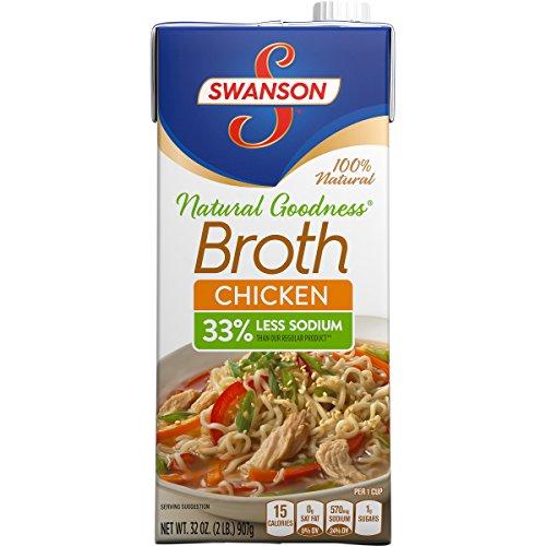 Swanson Natural Goodness Chicken Broth, 32 oz