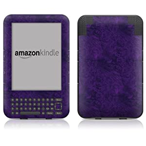 "DecalGirl Kindle Skin (Fits 6"" Display, Latest Generation Kindle) Purple Lacquer (Matte Finish)"