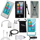 DigitalsOnDemand ® 11-Item Accessory Bundle for Apple iPod Nano 7th Generation 16GB (Newest Model)