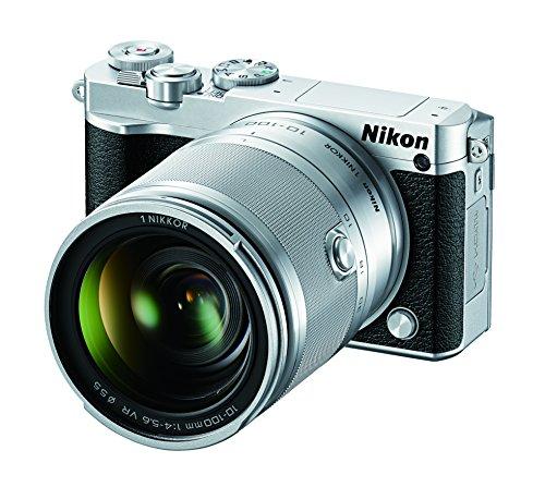 Nikon 1 J5 Mirrorless Digital Camera w/ 10-100mm Lens (Silver)