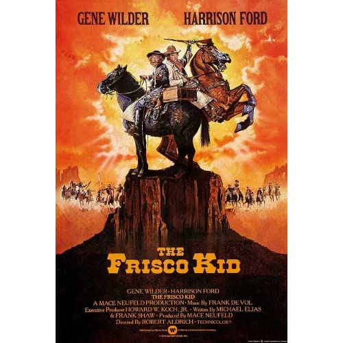 Image result for The Frisco Kid poster