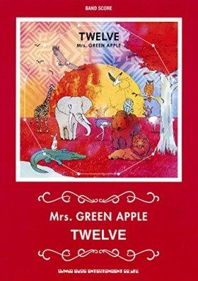 バンド・スコア Mrs. GREEN APPLE 「TWELVE」 [特製ポストカード付]