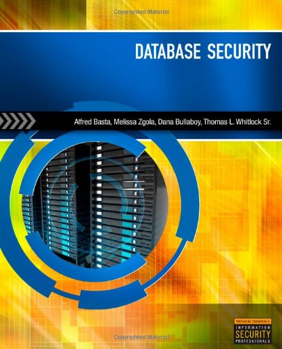 Database Security Alfred Basta Pdf