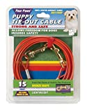 Four Paws 15 Foot Puppy Dog Tie Out Cable