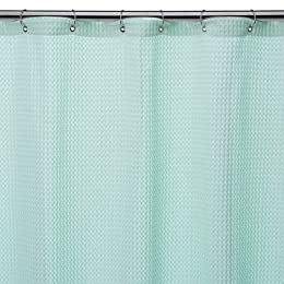Product Image Home Waffle Weave Shower Curtain - Light Blue
