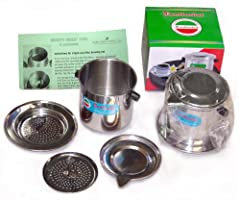 Vietnamese Traditional Coffee Phin Filter 8 Ounce, 2-pack, Gravity Insert