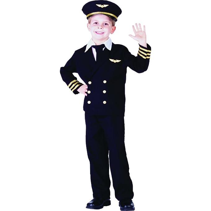 Pilot Boy Jacket Costume Set - Toddler T4