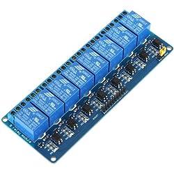 KKmoon 5V Activo bajo tablero del módulo de relé de 8 canales para Arduino PIC AVR MCU DSP ARM