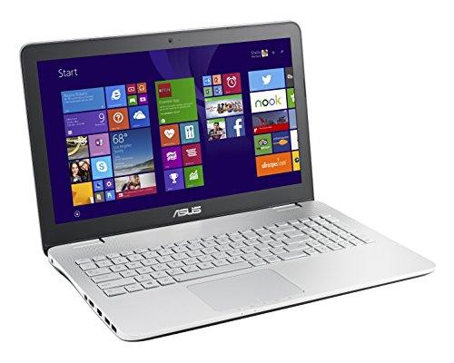 Asus N551JW-CN068H Notebook, Display 15.6 Pollici Full HD, IPS, Processore Intel Core i7-4720HQ, RAM 16 GB, HDD 1 TB 7200 rpm, Scheda Grafica NVIDIA GeForce GTX 960M 4 GB, Argento