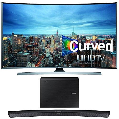 Samsung UN55JU7500 55-Inch 2160p 3D Curved 4K UHD Smart TV w/ HW-J6500 Soundbar Bundle includes UN55JU7500 55-Inch 4K TV and HW-J6500 Wireless Soundbar