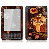 "GelaSkins Protective Kindle Skin (Fits 6"" Display, Latest Generation Kindle) The Enamored Owl"