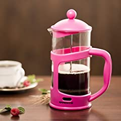 34 Oz. French Press Coffee Maker Color: Pink