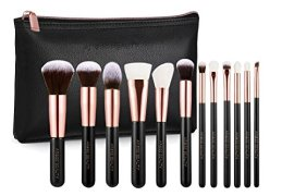 Professional-Luxury-Rose-Gold-12pc-Soft-Makeup-Brush-Set-Vintage-Rose